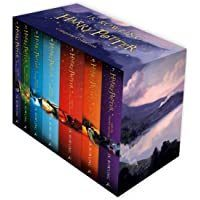 Harry Potter Box Set The Complete Collection Childrens In 2020 Rowling Harry Potter Harry Potter Kinder Schuber