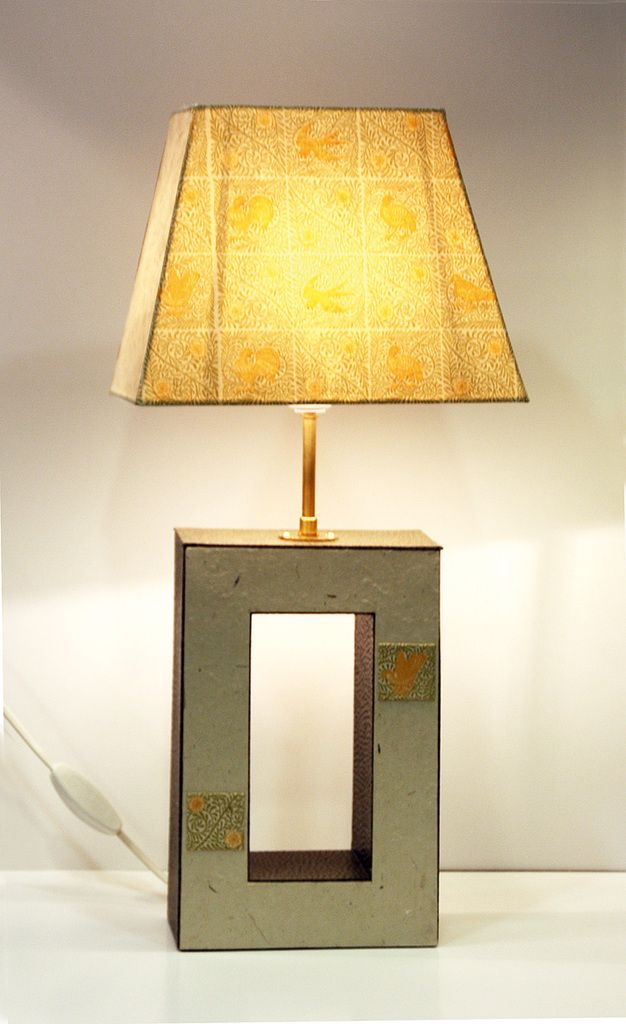 cartonnage meuble en carton lampe et abat jour 23 mars 2014 lampes pinterest abat jour. Black Bedroom Furniture Sets. Home Design Ideas