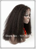 the is a brazilian curl 100% human hair full lace wig ,bleach knots,free style