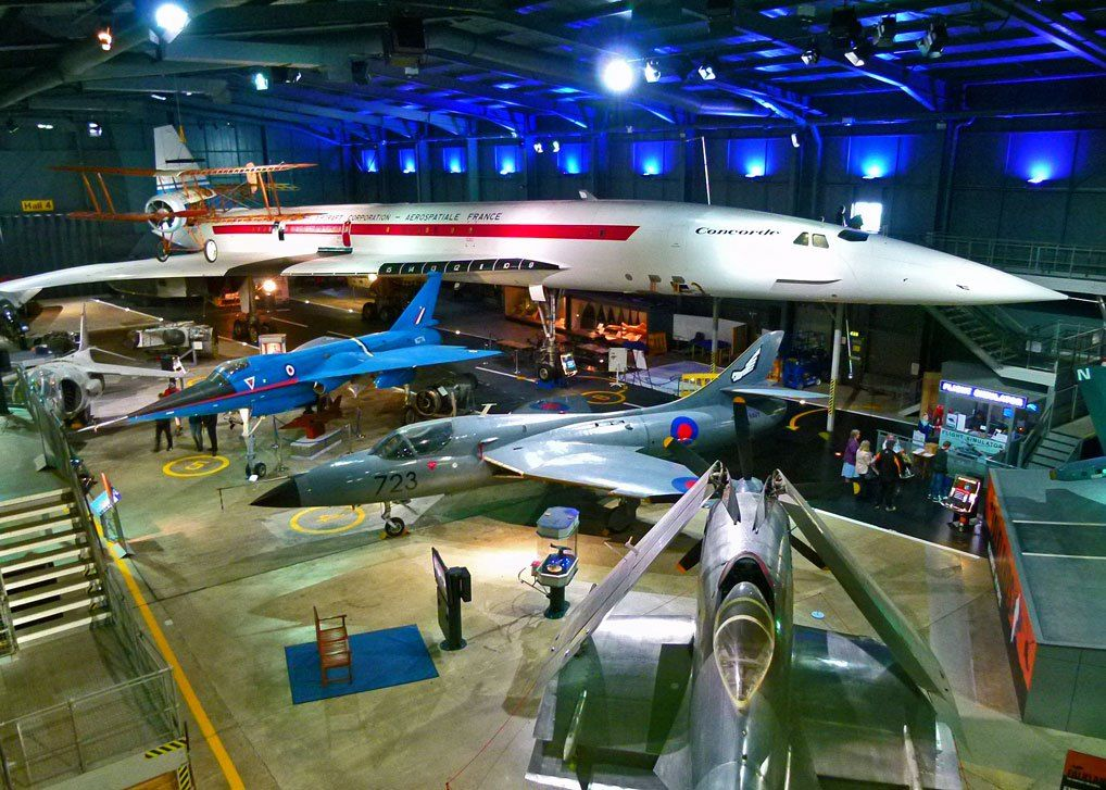 Fleet Air Arm Museum, Yeovilton Concorde and friends in