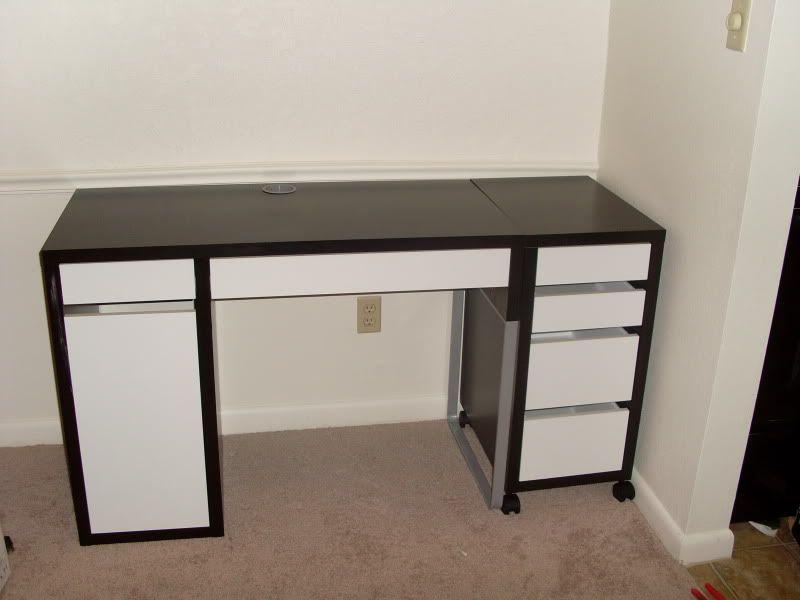 new ikea desk office remodel pinterest ikea desk desk and micke desk. Black Bedroom Furniture Sets. Home Design Ideas