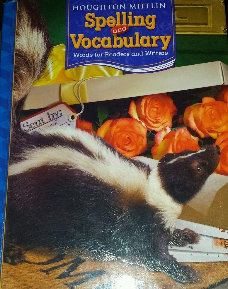Houghton Mifflin Spelling & Vocabulary 4th Grade Textbook