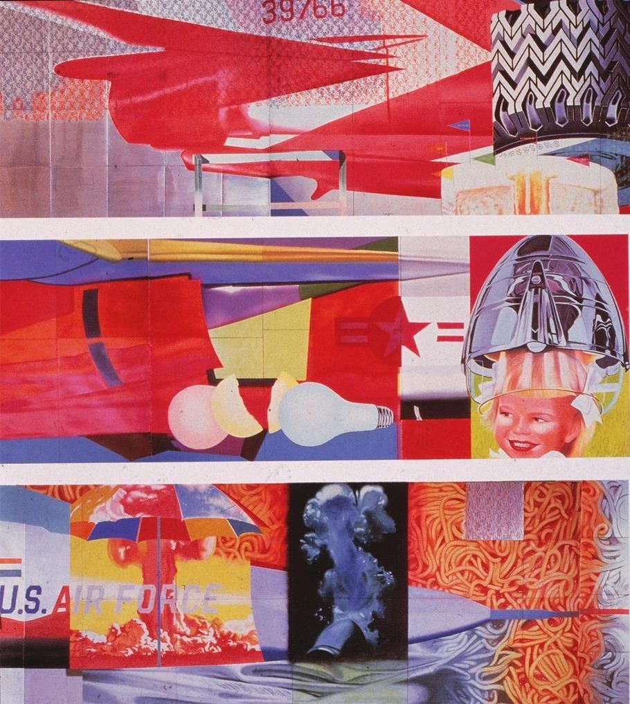 """F-111"" by James Rosenquist"