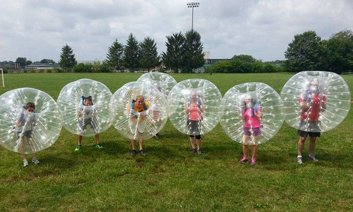 Bubble Soccer for 10 People - Indy Bubble Soccer | Groupon