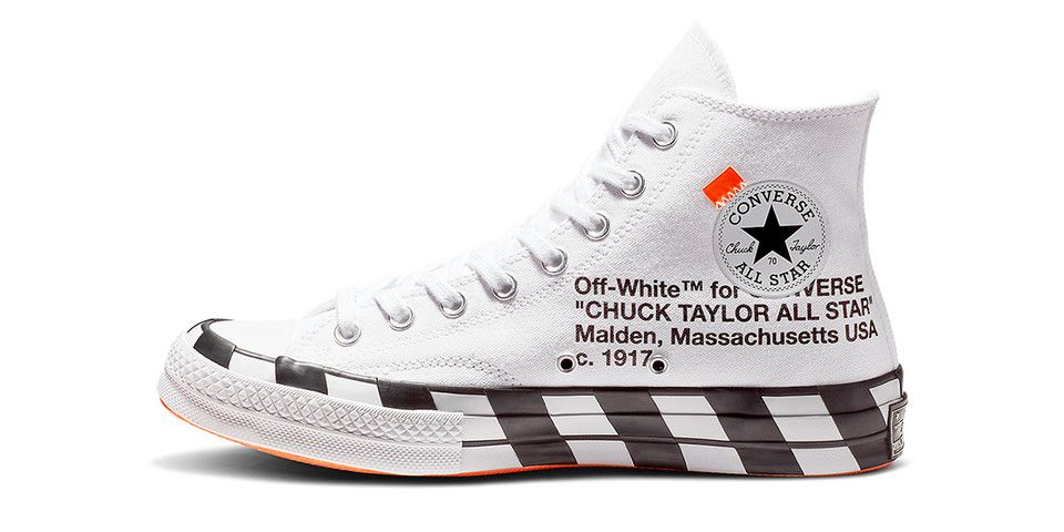 Off White x Converse Chuck Taylor 70, Women's Fashion, Shoes