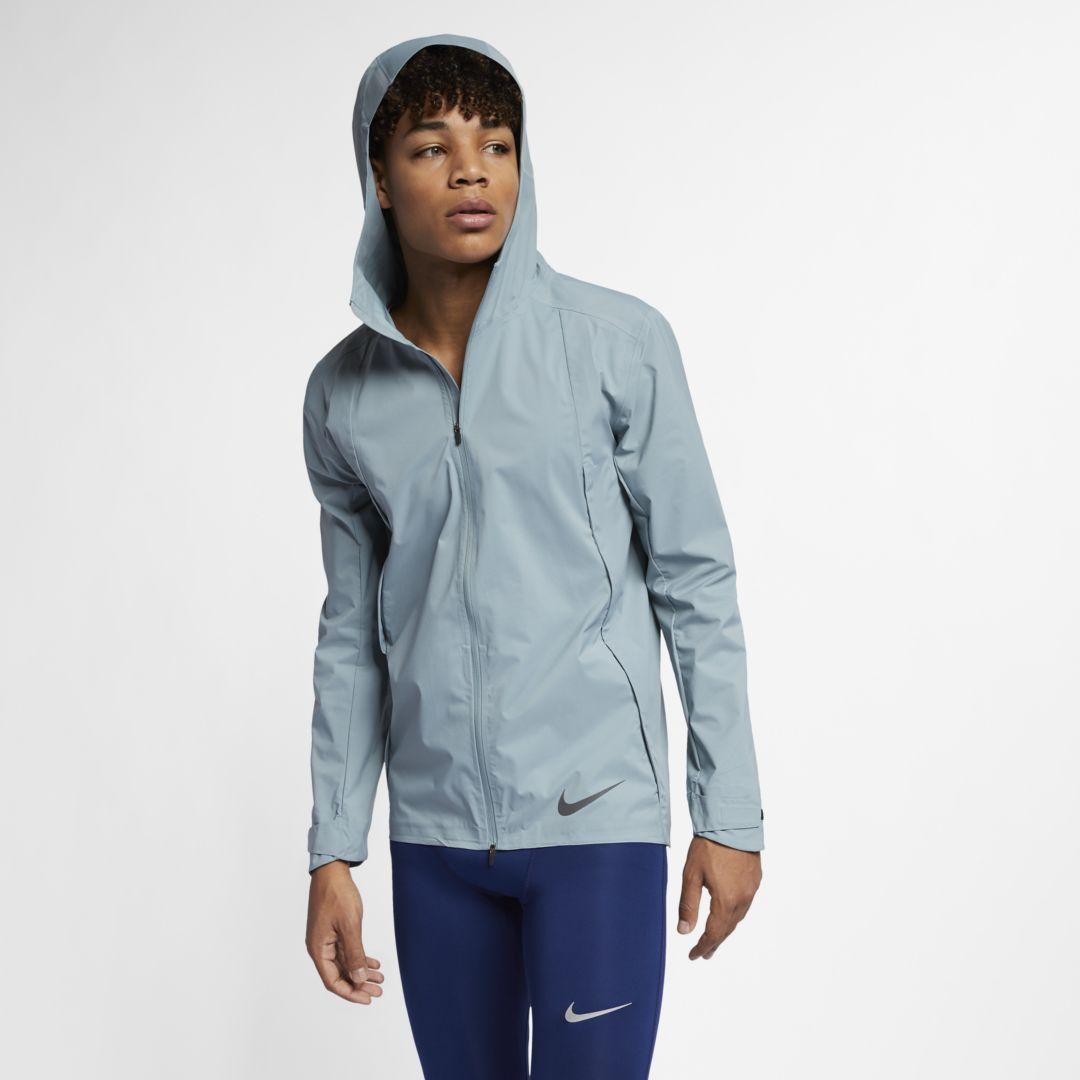 Nike Zonal AeroShield Men's Running Jacket Size S (Aviator