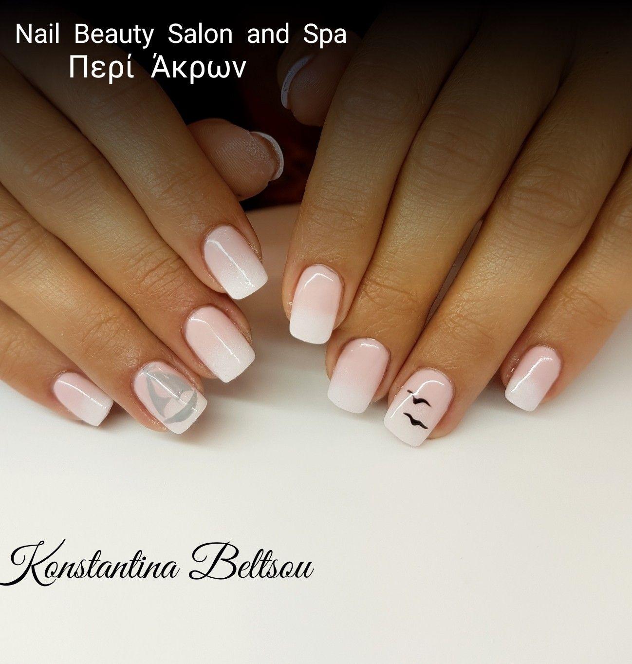Gel nails, ombre nails, Babyboomer nails, gel polish, nail ...