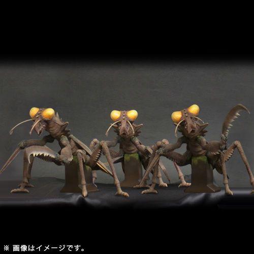 Japan Rare X Plus Toho Large Monster Series Kamacuras 3 Pieces Ric