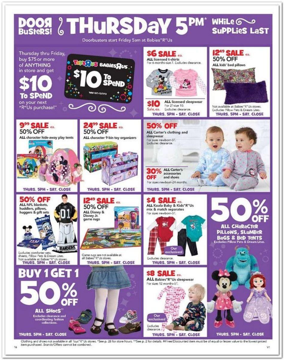 Babies R Us Black Friday Ad 2013 Black Friday 2013 Ads Pinterest