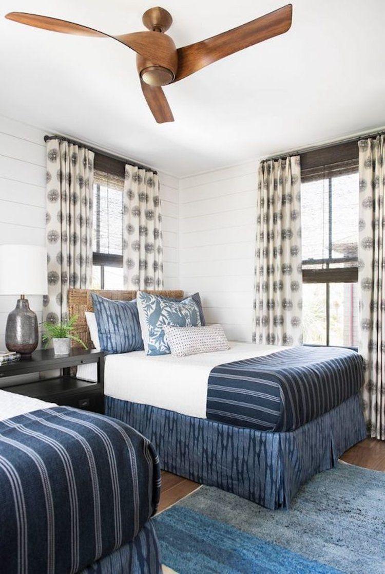 Cortney Bishop Design Ceiling Fan Guest Room Style Home Decor