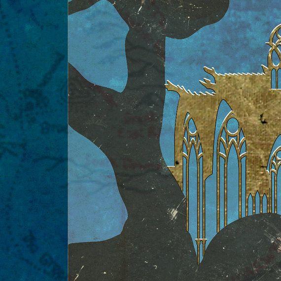 Ok, así que esto no encaja con el tema del viaje de mi tienda pero yo soy un gran fan de Tolkien y no puede esperar hasta que salga la próxima entrega del Hobbit. Así que crearía un cartel de Viaje a Lothlorien. ¿Te imaginas un árbol del refrigerador? Me imagino que el más elegante eco lodge en la selva amazónica pero mejor y más templado.    Este cartel representa Lothlorien en una forma plana simple y el estilo manuscrito ilustrado con Caras Galadhon aparece en todo su esplendor. La imagen…