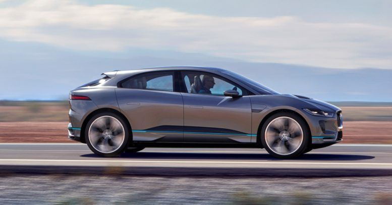 2018 Jaguar I Pace Concept Exterior Is A Mixture Of Medium Sized Suv Coupe And Hot Hatch