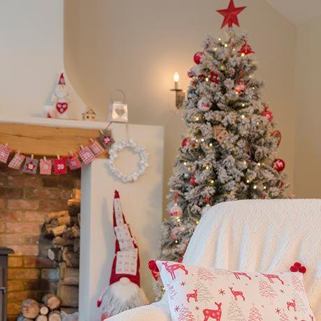 Homespun - Traditional Christmas decorations - Homebase - Homespun - Traditional Christmas Decorations - Homebase