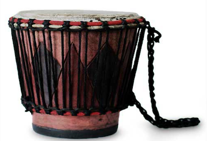 Monochoro Wood Drum Sustainable Gifts Holiday Gift Guide Candlelight
