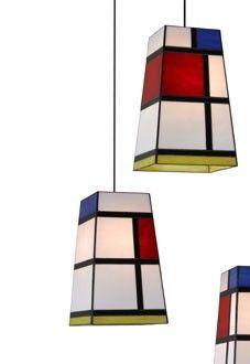 MON Lámpara Colgante by @Arturo Perez Perez Perez alvarez #design #mondrian