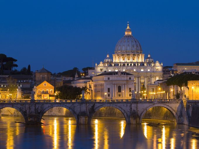 Who wouldn't want to cross The Tiber?