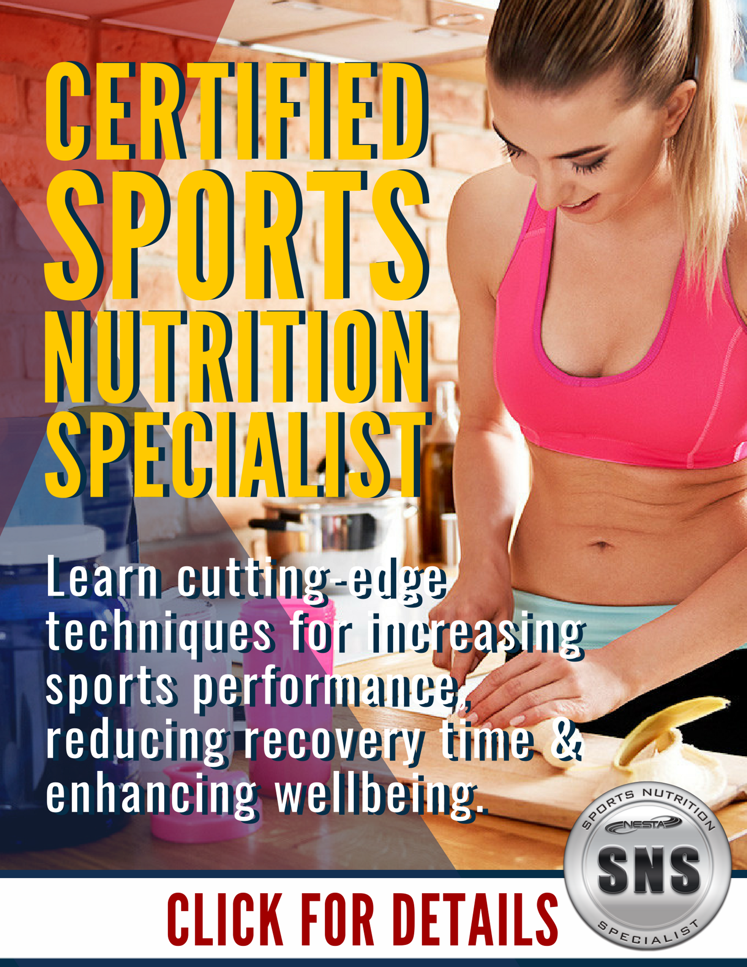 Sports Nutrition Specialist Certification Health Nutrition Fitness