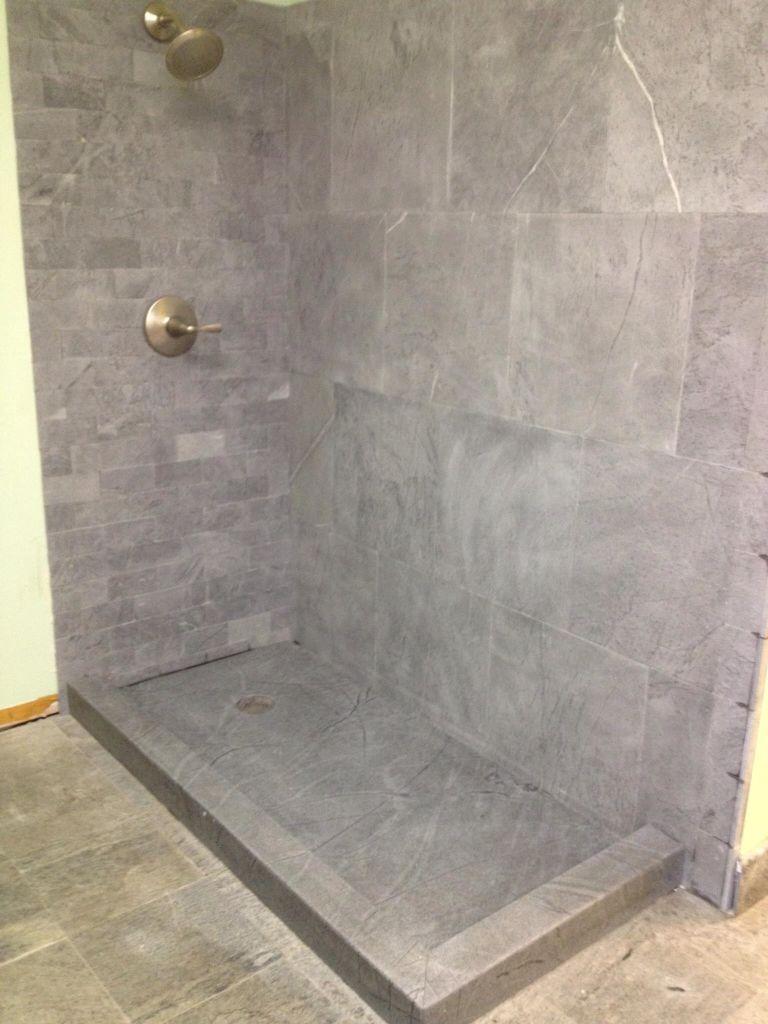 . Soapstone Shower M Teixeira Soapstone   bathroom ideas   Soapstone