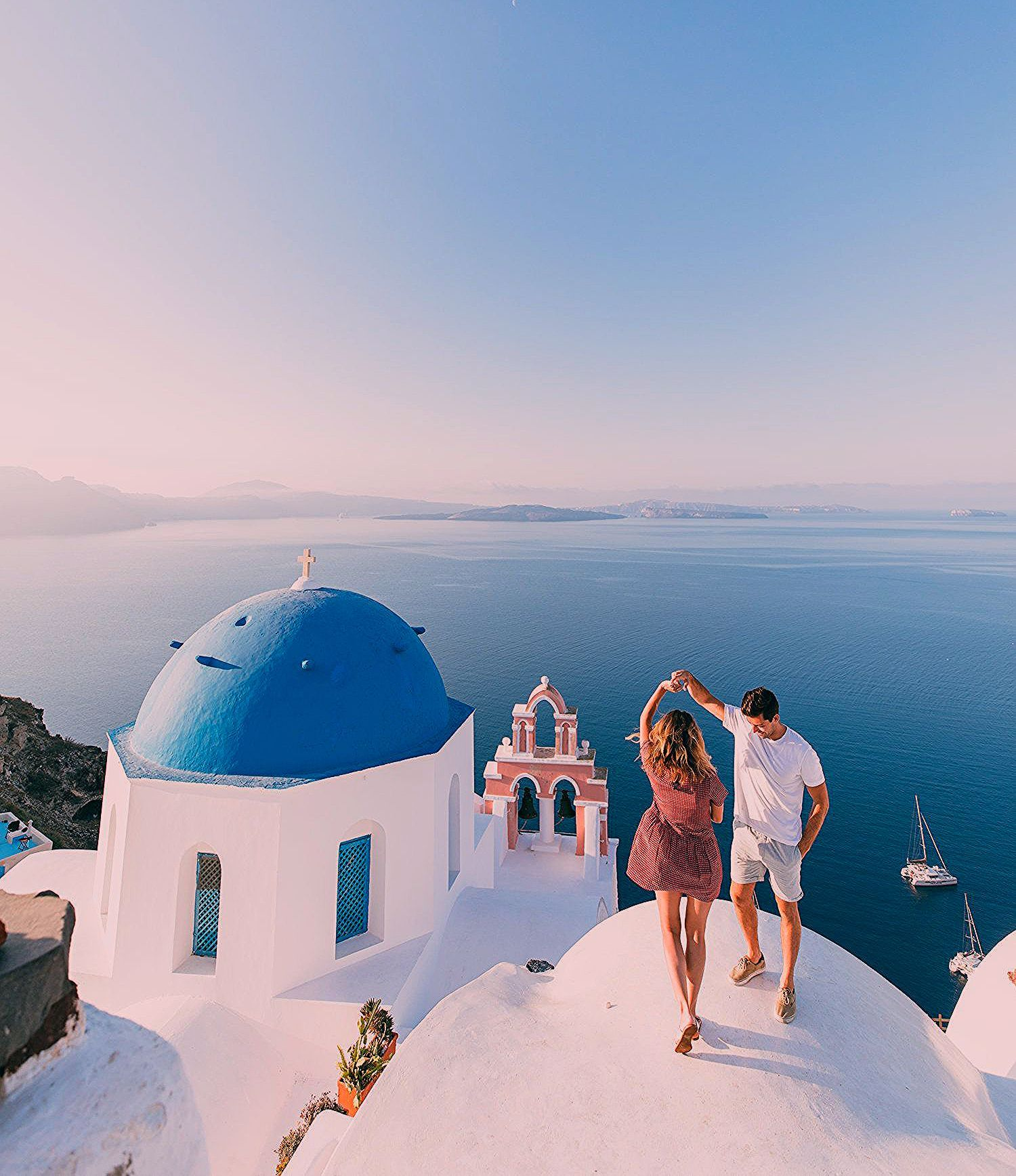 Photo of The Most Instagrammable Spots in Santorini.  — Our Travel Passport