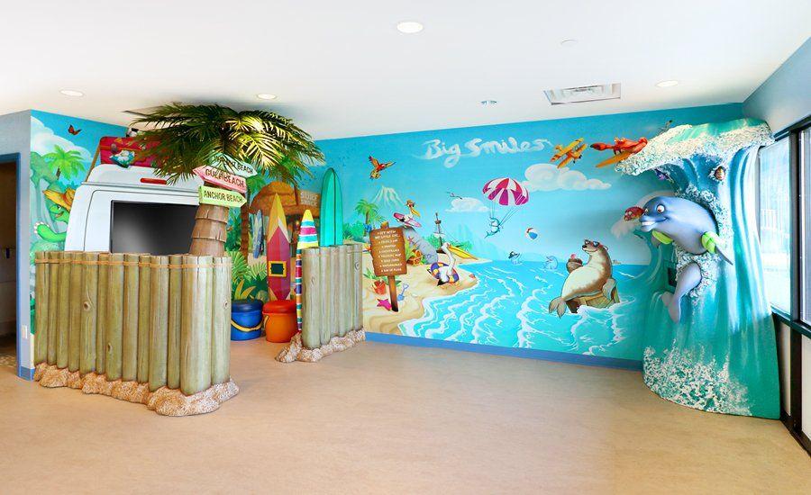 Sunny Beach Theme For Pediatric Dental Office Imagination Dental