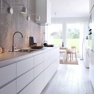 ikea voxtorp kitchen ideas pinterest implantation cuisine cuisine lin aire et lineaires. Black Bedroom Furniture Sets. Home Design Ideas