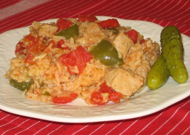Hungarian Pork with Rice Recipe - Serteshus Rizzsel: Hungarian Pork with Rice