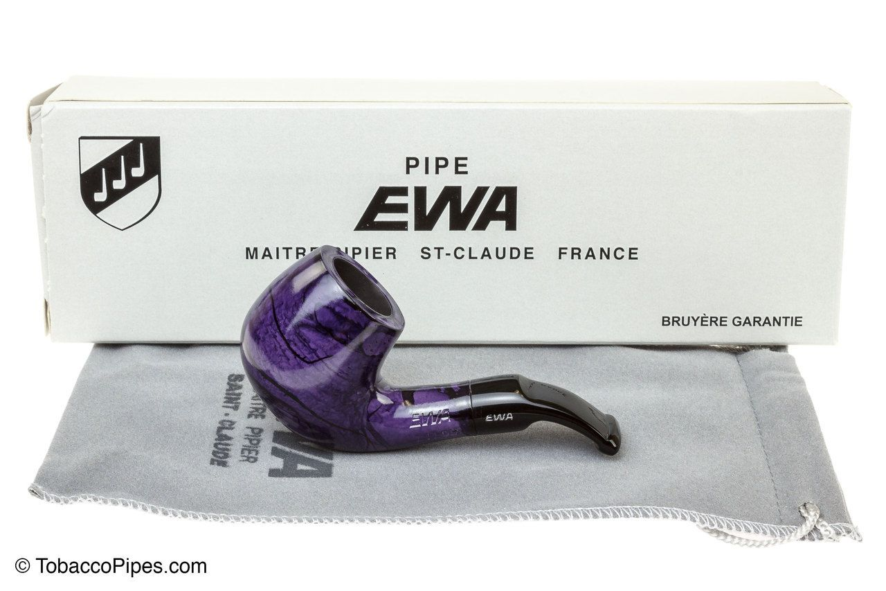 TobaccoPipes.com - Ewa Lilou Violette Smooth Tobacco Pipe, $41.20 (http://www.tobaccopipes.com/ewa-lilou-violette-smooth-tobacco-pipe/)