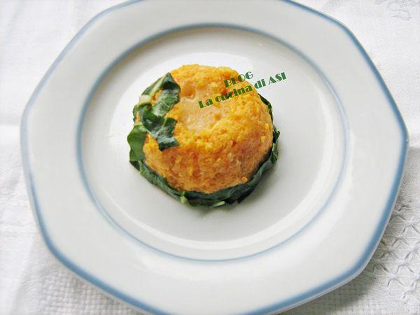 Questo sformato di zucca ha un cuore morbido di formaggio Asiago tanto gustoso!LA zucca non ha tante calorie, si può gustare in tanti modi! La cucina di ASI
