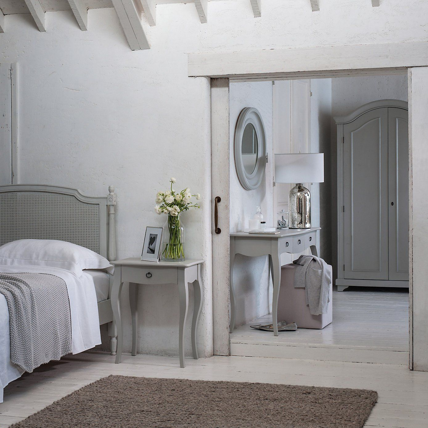 provence side table the white company guest bedroom. Black Bedroom Furniture Sets. Home Design Ideas