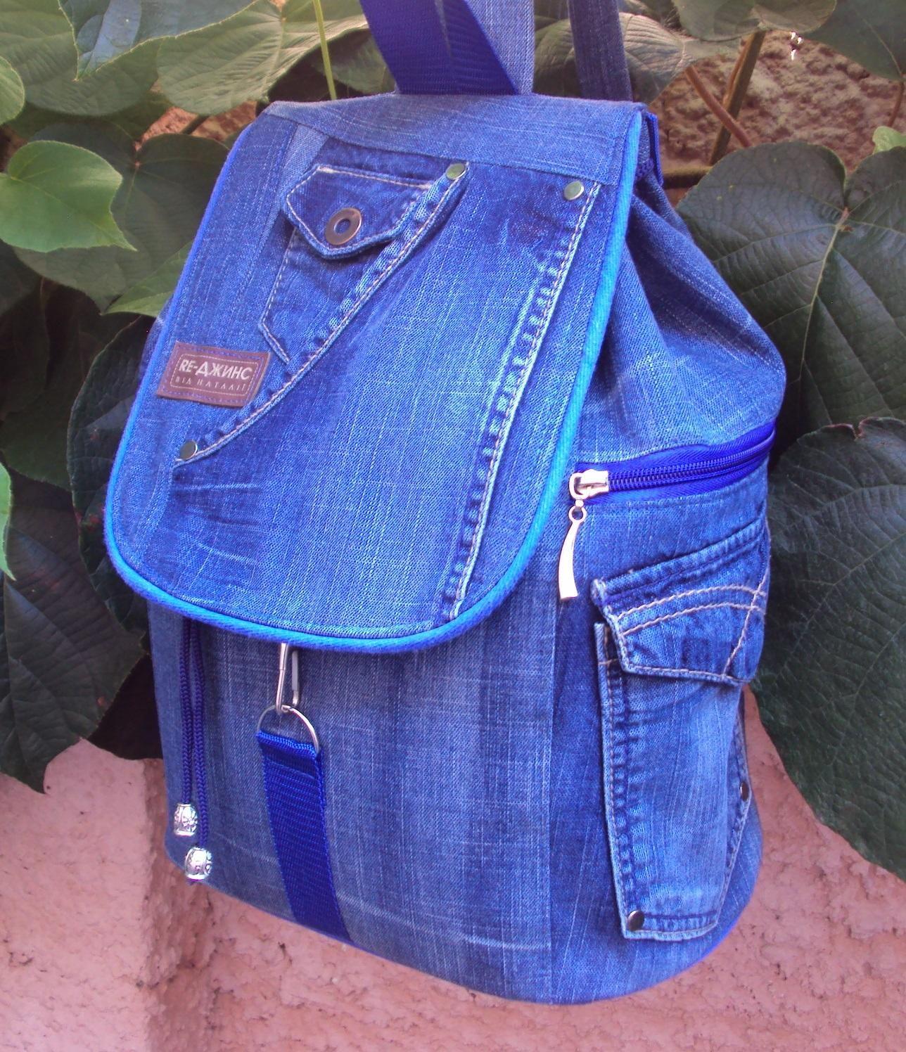 Идеи джинсовых сумок выкройки фото 1000