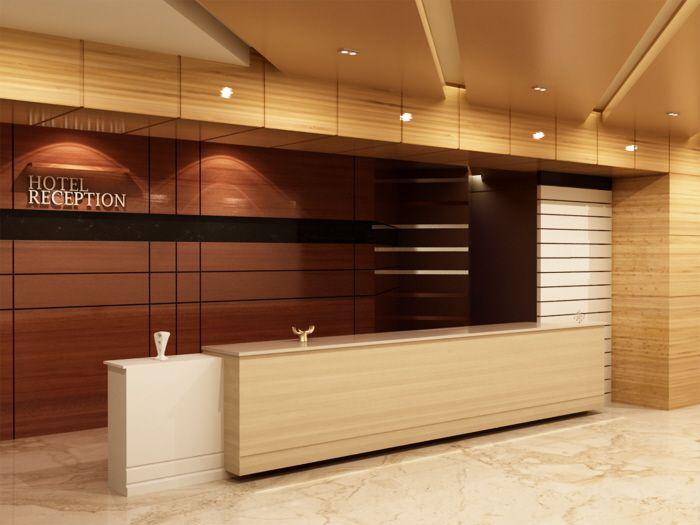 Hotel Reception Front Desk Hotel Lobby Interior Design Hotel