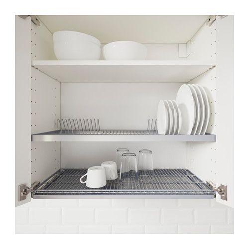 UTRUSTA Abtropfgestell für Wandschrank   Dish drainers, Kitchens and ...