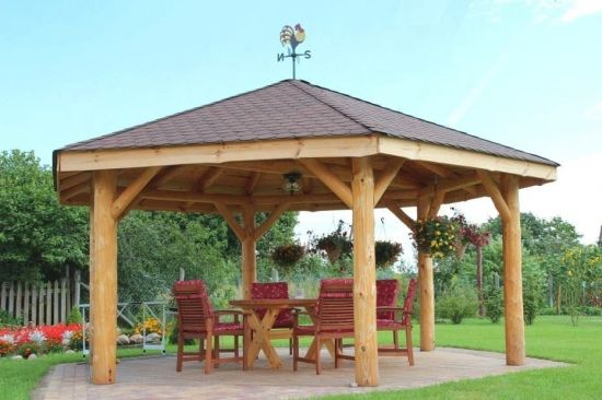 Model De Foisor De Vara Backyard Pavilion Gazebo Backyard