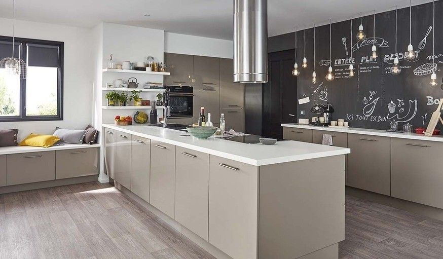 Pin By Lina On Cuisines Taupes Lin Home Decor Kitchen Home Kitchens Kitchen Inspirations