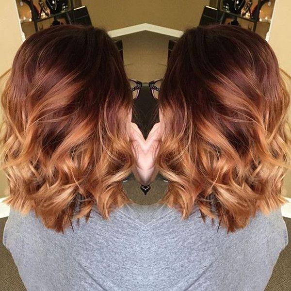 20 Shades Of Copper Wonderful Pumpkin Spice Hair For This Season Red Balayage Hair Hair Styles Balayage Hair