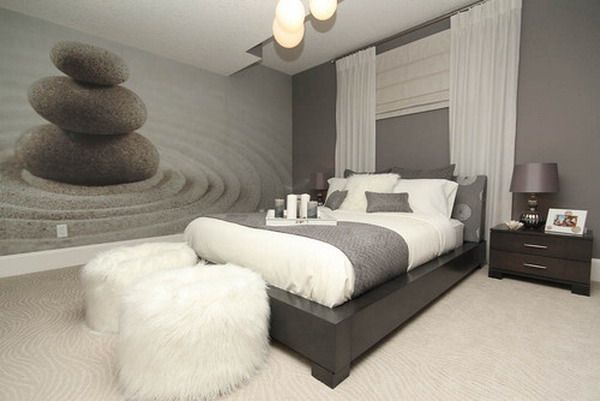 contemporary harmonious zen bedroom wall murals - Zen Colors For Bedroom
