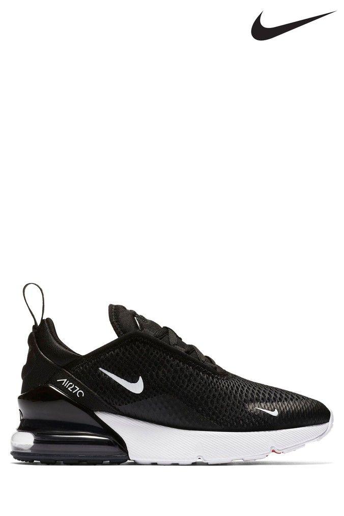 Boys Nike Black Air Max 270 Junior