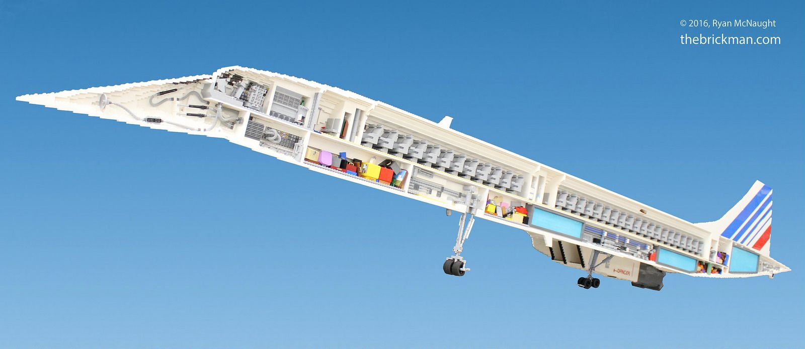 LEGO Concorde   Flickr - Photo Sharing!