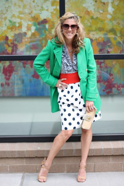 the Queen City Style: Splash, Dash, Dot - Having Fun Mixing Colors and Patterns