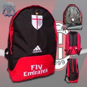 Berikut Spesifikasi Produk Tas Bola AC Milan Logo Bordir   Ukuran tas 45 x  35 x f3be9d168f
