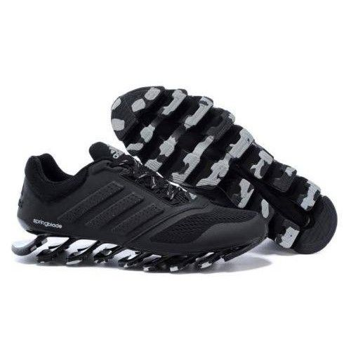 adidas spring blade running and basketball shoes #fashion