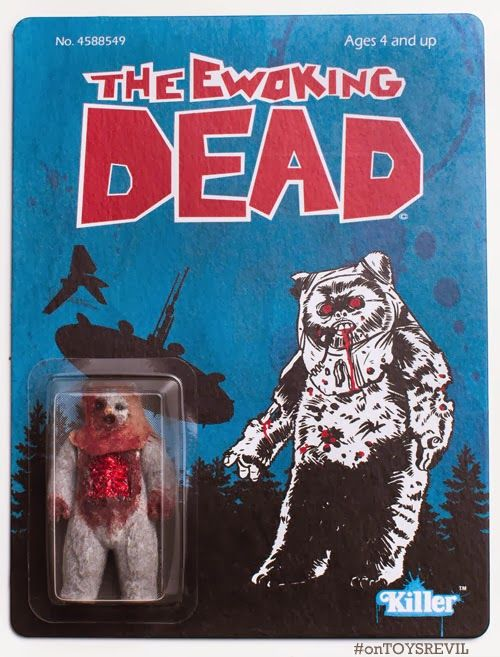 Image of: Shirt Ebay The Ewoking Dead Bootleg Toy Google Search Pinterest Ebay The Ewoking Dead Bootleg Toy Google Search Customtoys