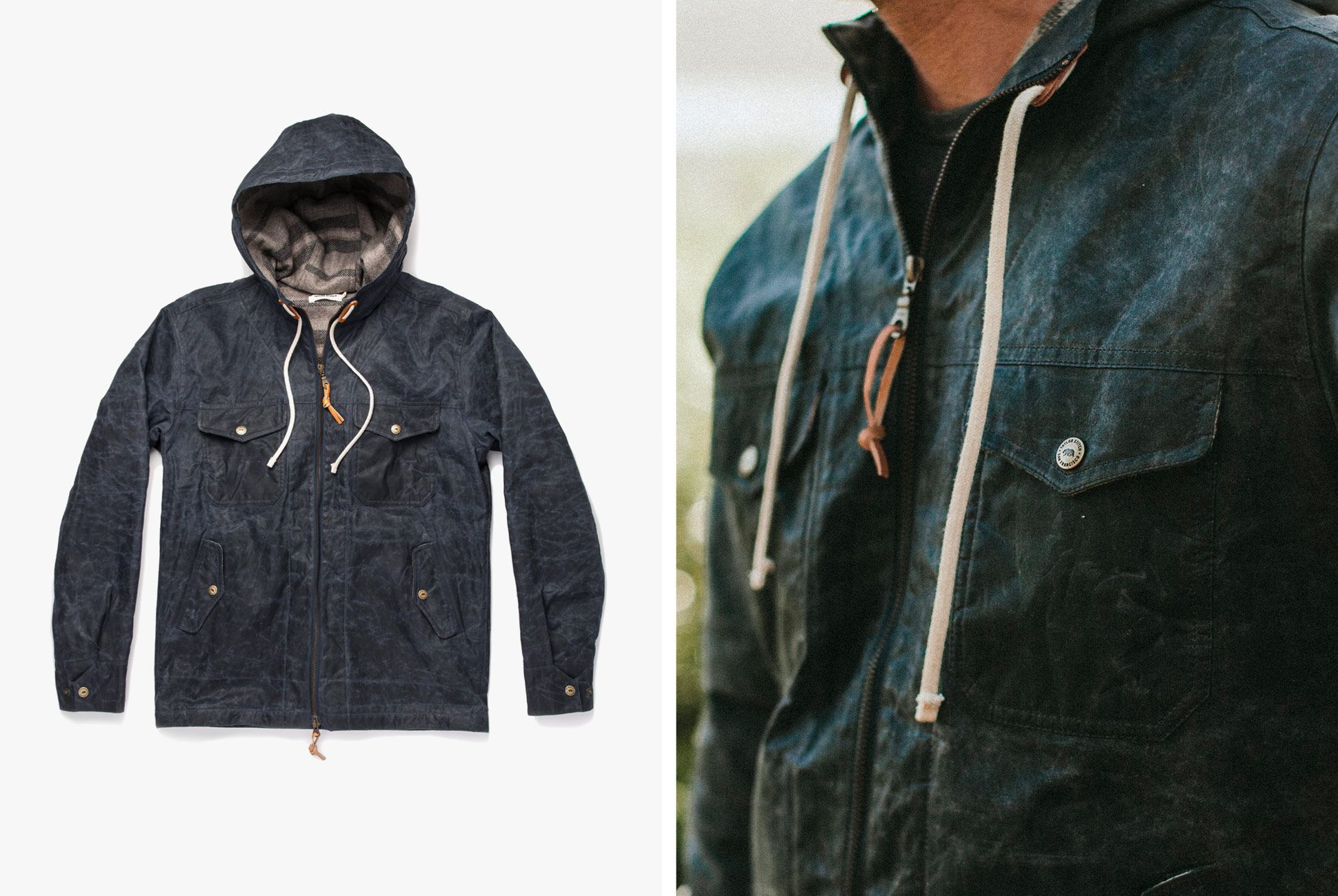 594a43d91 This Waxed Canvas Jacket Will Stand Up to the Worst Spring Weather ...