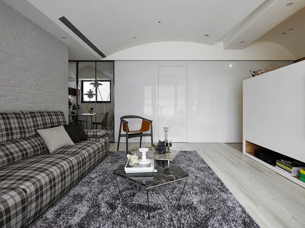 Jiang Residence Interior Design Living Room Salas Living Room Interior Design