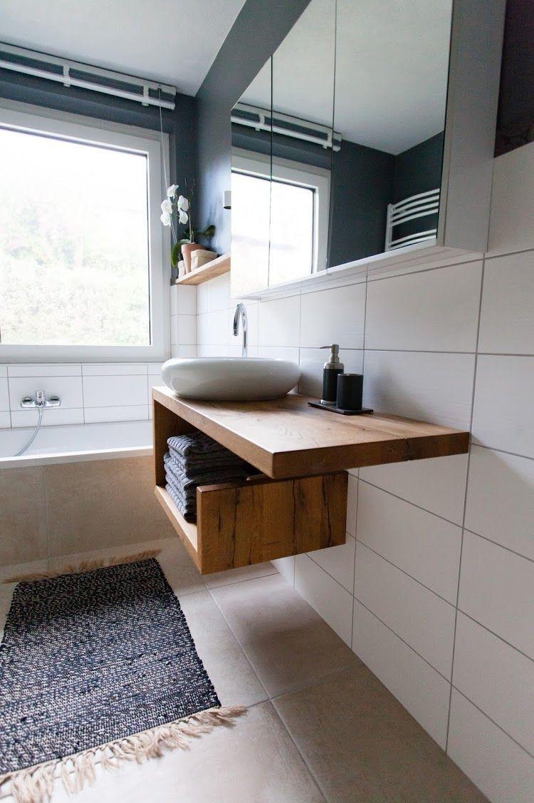 Vorher Nachher Ein Neues Badezimmer Unter 5000 Euro Wohn Projekt Neues Badezimmer Wohnung Einrichten Badezimmer
