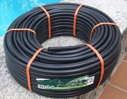 Black Hosepipe To Be Used In A Solar Water Heating System For A Swimming Pool Solar Collector