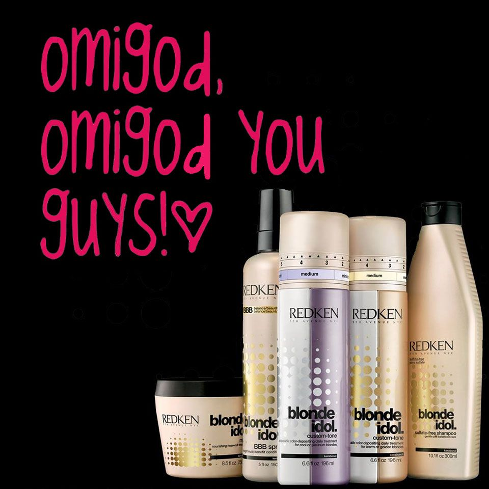 Enjoy #LegallyBlonde hair with new #Blonde Idol by Redken!