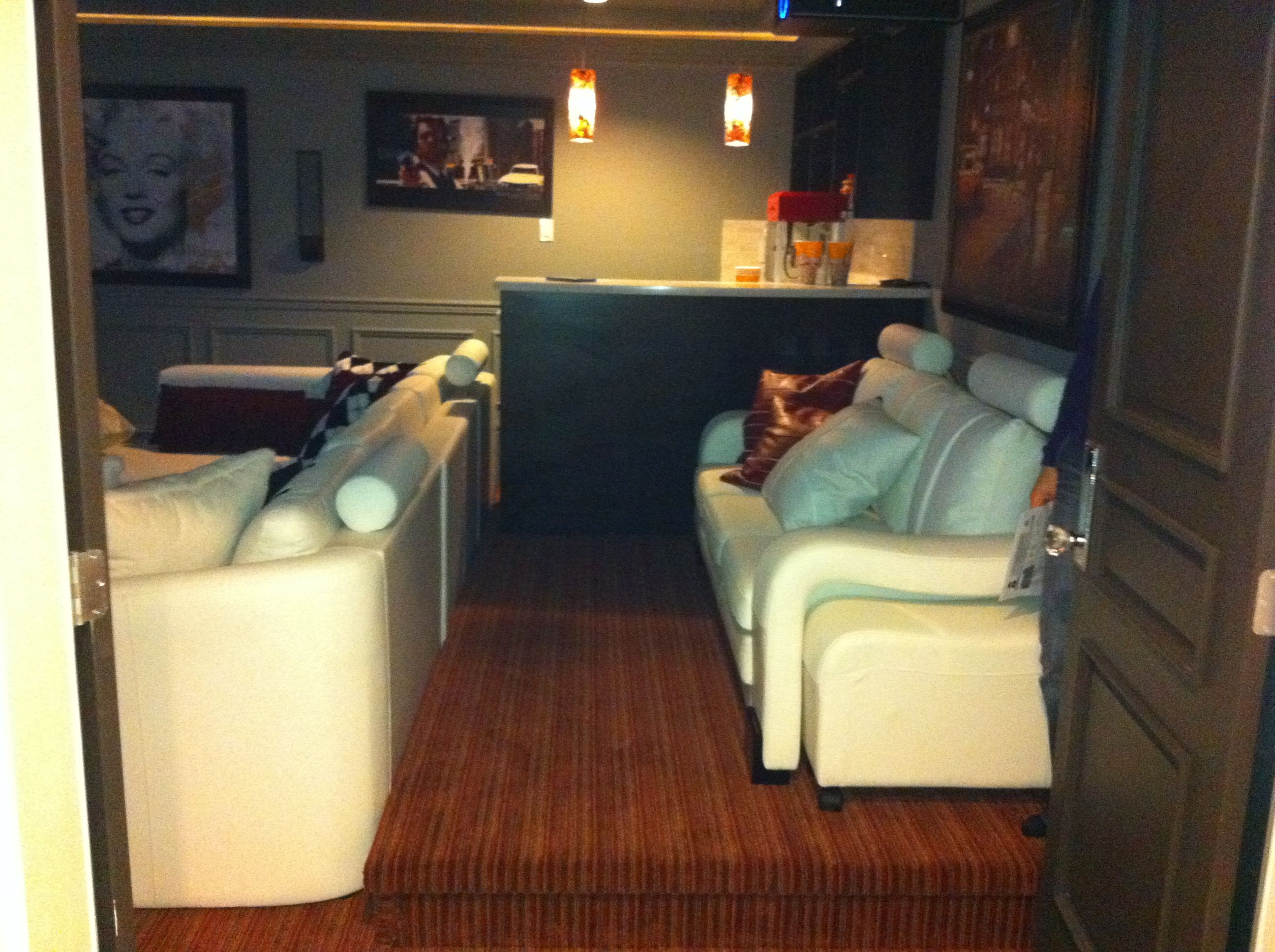 Smart Way To Increase Seating In The Media Room (Step