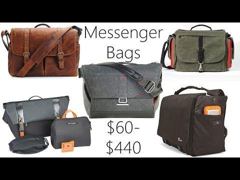 Messenger Bag Review: Everyday Messenger, Ona Brixton, Domke Herald, LowePro Urban Reporter, 24/7 - YouTube