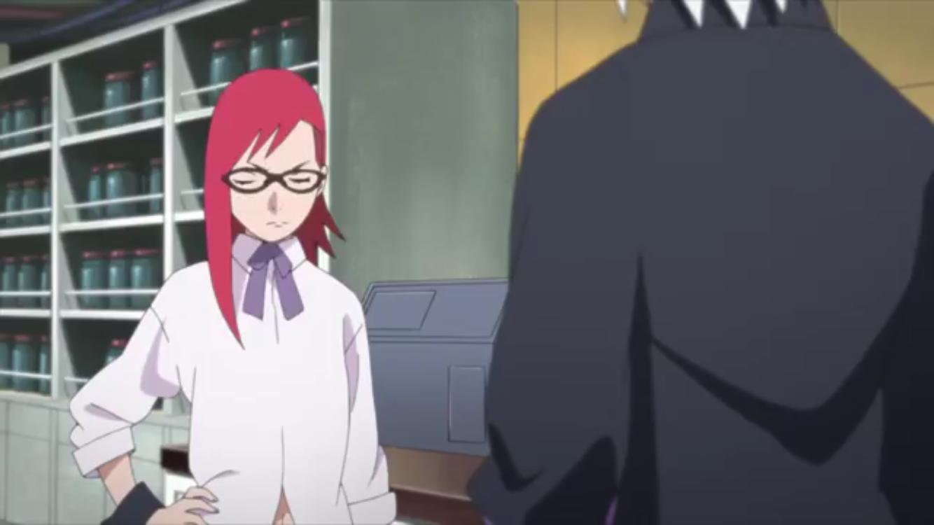Karin Uzumaki And Suigetsu Boruto Naruto Next Generations